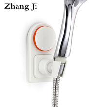 Zhangji Modern Style High Quality ABS Shower Holder Home Bathroom Suction Cup Bracket Adjustable Angle Head