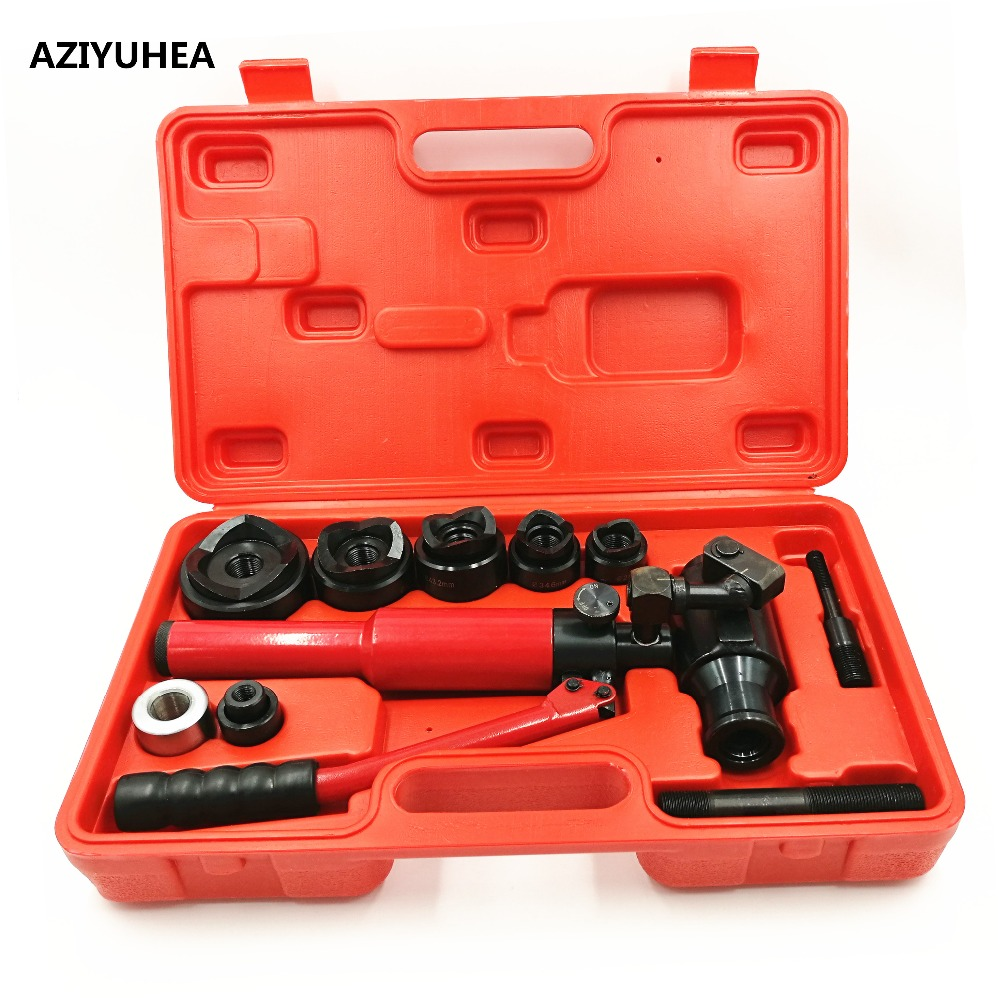 WK 12AL Universal Hydraulic Punch Driver stainless steel iron plate mild steel hole puncher 12T 22.5MM 61.5MM