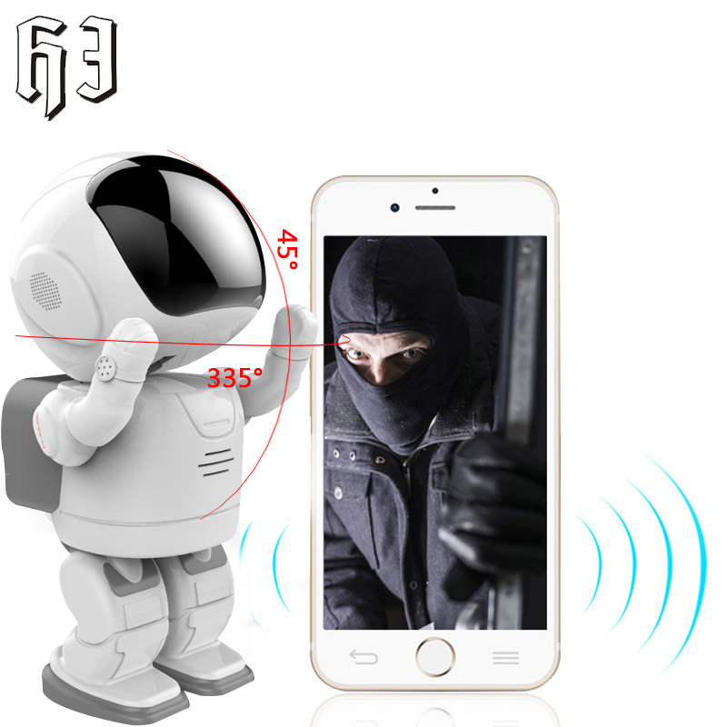 960P Robot IP Network Camera HD WIFI Baby Monitor 1.3MP Wireless CCTV P2P PTZ Onvif Audio Security Remote Wi-fi IR Night Vision