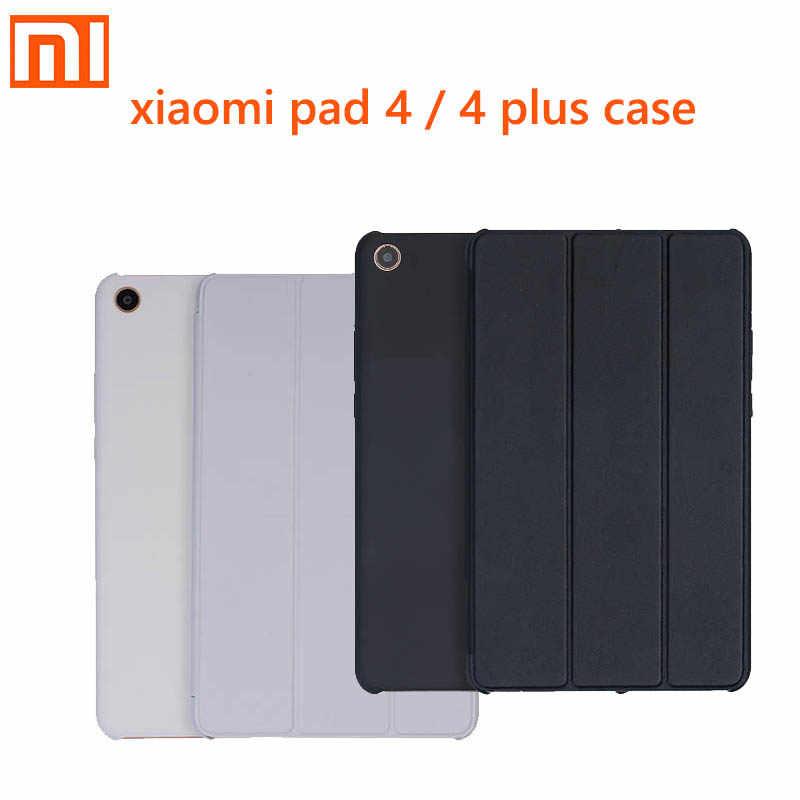 Оригинальная Книга чехол для xiaomi pad 4 Smart черный/серый/красный чехол умный Флип Защита ПК + PU материал для Xiao xiaomi mi 4 pad