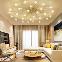 Creative Chandelier Ceiling Bedroom Living Room Modern Lighting Fixture G4 Star Ceiling Fixtures lustre LED For Children Room