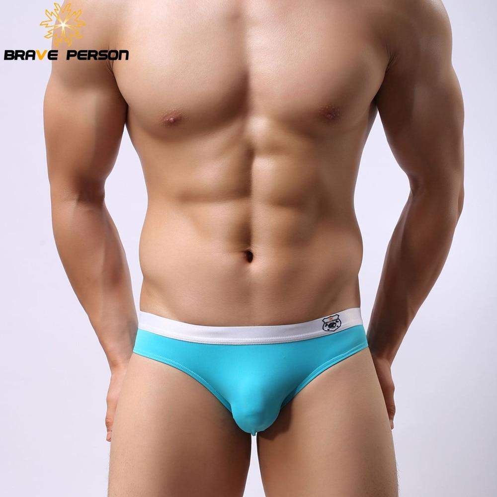 Hrabra oseba Novi prihod B1141 moški najlon seksi hlače bikini modne hlačke hlače spodnje perilo hlače za moške 8 barva velikost S-XL