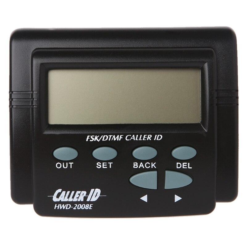 Двойной сигнал FSK/DTMF телефонный звонок коробка Определитель номера мобильного телефона ЖК-дисплей