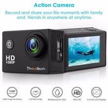 Action Camera HD Wifi 1080P Sports Camera Waterproof 30M Underwater Camera 12Mp Motorcycle Helmet Bike Action