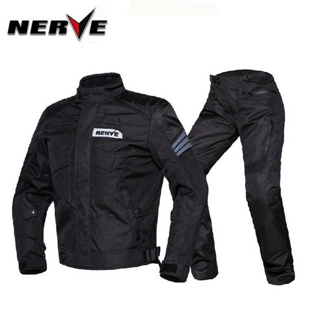 US $249 98 7% OFF|Germany NERVE Men's motorcycle racing suit jacket cross  country motorbike ride clothing Knight clothes jacket pants Robert Zorro-in