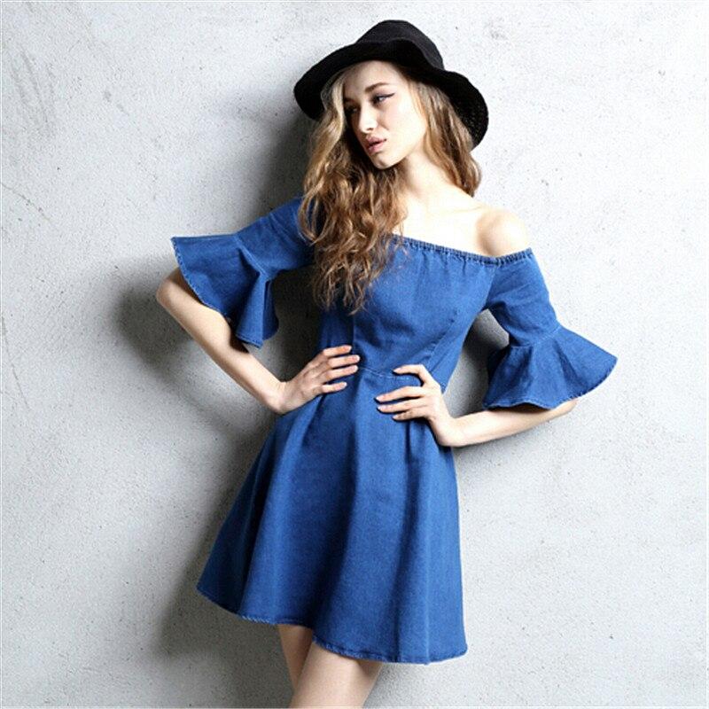 Off Shoulder Casual Summer Dress