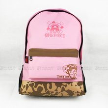 Anime One Piece Cosplay  Student male and female leisure large capacity backpack child birthday gift