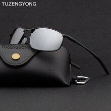 TUZENGYONG Polarized Men Sunglasses 2019 Brand Designer Allo