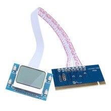 Последним Высокое Качество PCI Материнской Платы Analyzer Диагностический Тестер Сообщение Тестовая Карта для Портативных ПК Desktop