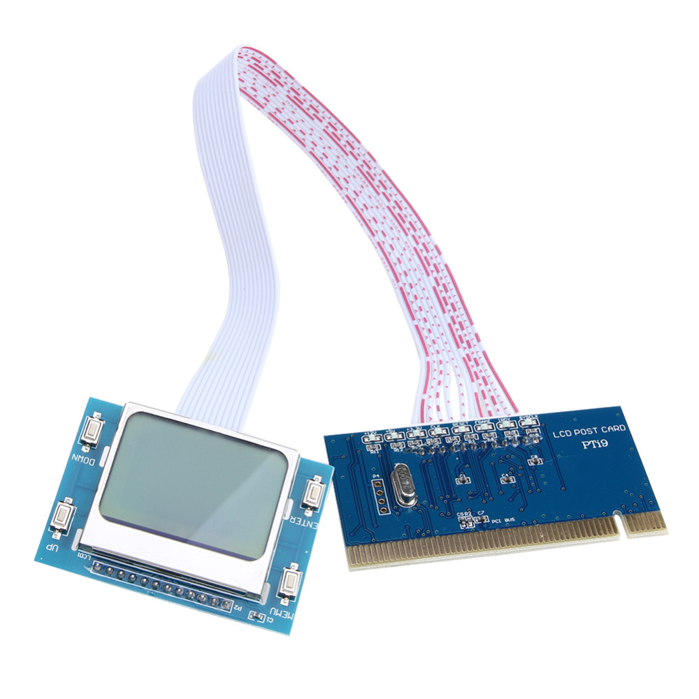 Più nuova Alta Qualità PCI Analyzer Tester Diagnostico Post Test per PC Laptop Desktop