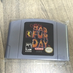 64 Bit Games Conker's Conkers Bad Fur Day English NTSC Game Card 64 bit games conker s bad fur day english pal version chip save file no need battery