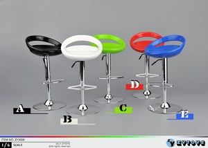 Estartek 1/6 ZY3004 Round Bar Swivel Chair for 12inch Phicen Tbleague Jiaoudoll Verycool Action Figure DIY