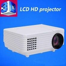 Hottest !REVISTA MC-T805 3D HD LED mini Projector 3D function for home cinema