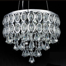 Guranteed 100 Modern Crystal Lamp dining room Pendant Lights indoor lighting