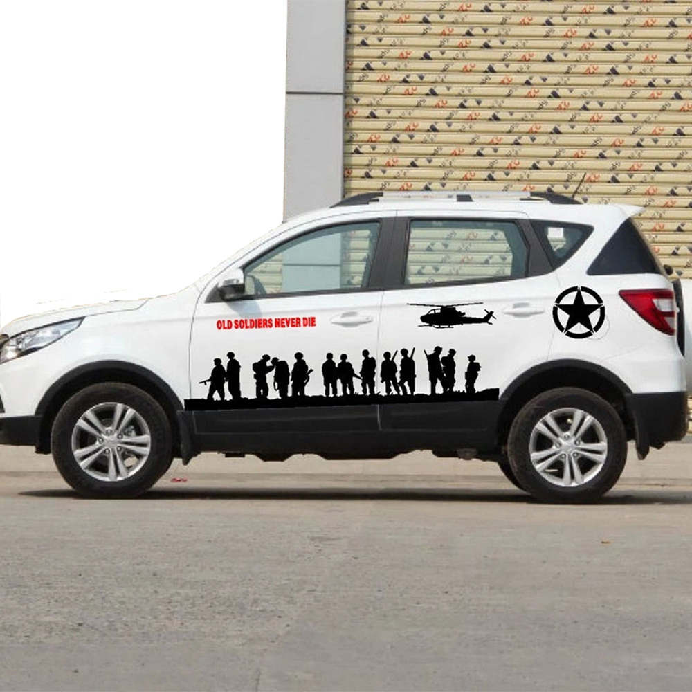 Toyota car sticker design - Universal Car Stickers And Decals Car Styling Funny Full Body Car Sticker For Bmw Vw Ford