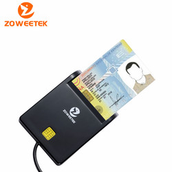 Genuino Zoweetek 12026-1 Nuovo Prodotto per USB EMV Lettore di Smart Card per ISO 7816 EMV Lettore di Chip Card