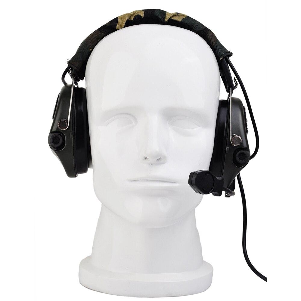 Z Tactica airsofte Anti-Noise Sordin Headset Hunting Headphones Peltor Headset Z-TAC softair earphone Z-tactical headet Z111