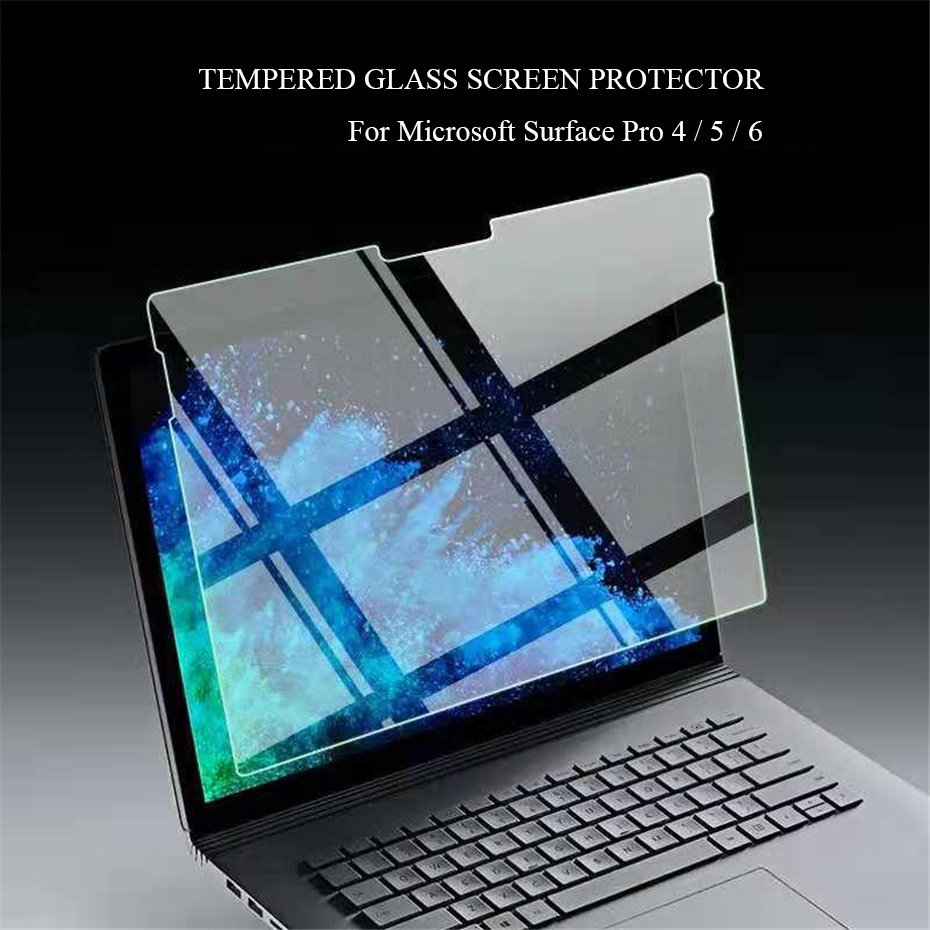 For Microsoft Surface Pro 6 Tempered Glass Film For Surface Pro 4 5 6 12.3'' Tablet PC Explosion-Proof Screen Protector image