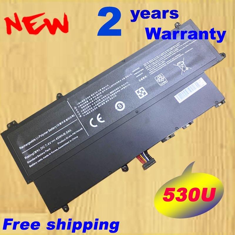 HSW Nouvelle batterie d'ordinateur portable AA-PBYN4AB AA-PLWN4AB HT3691FC700364 Pour Samsung 530U3 Série 530U3C 535U3C NP530U3C NP530V3c
