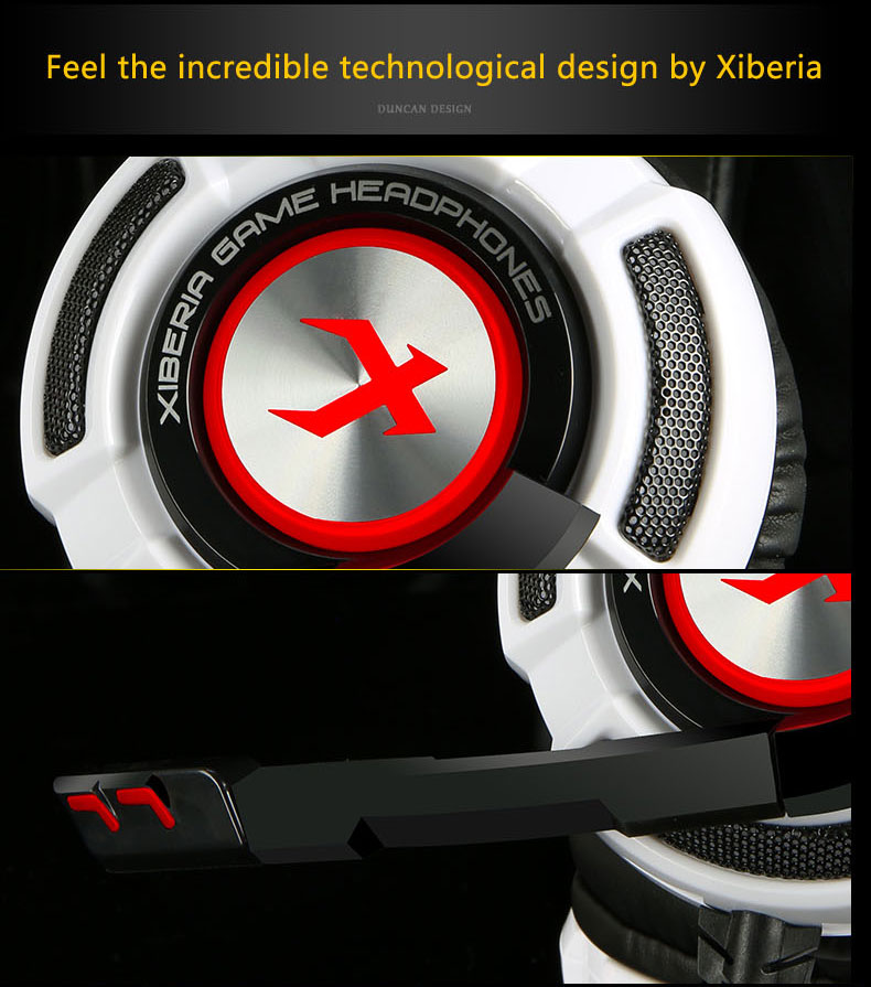 игровые наушники 7.1 звуковая вибрация над-уха гарнитуры наушники USB кабель с микрофоном бас стерео бренд ноутбук К3