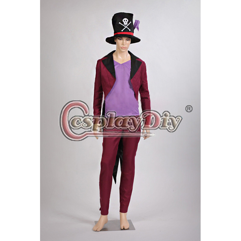 The Princess and the Frog Dr. Facilier Adult Men Cosplay Costume Halloween Anime Cosplay Outfit Custom Made D0604-in Anime Costumes from Novelty u0026 Special ...  sc 1 st  AliExpress.com & The Princess and the Frog Dr. Facilier Adult Men Cosplay Costume ...