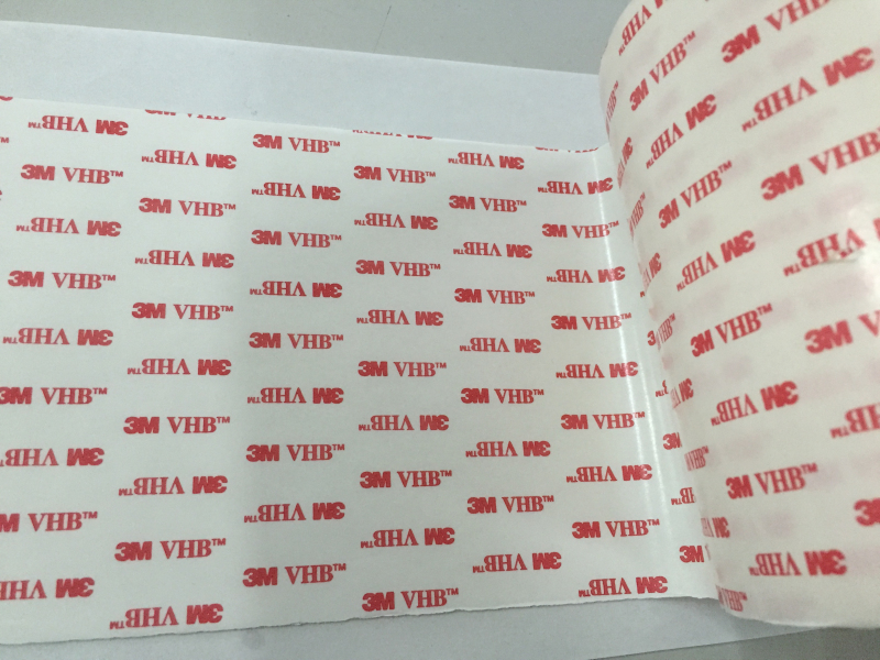 610mmx66m 3M 4930 VHB White Acrylic Double Sided Adhesive Tape 1piece 3m vhb 5952 heavy duty double sided adhesive acrylic foam tape black 150mmx100mmx1 1mm