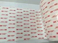 610 мм x 66 м 3 м 4930 VHB белый акрил двусторонняя клейкая Клейкие ленты