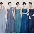 Custom Color&Size!New 70 colors Convertible Dress long bridesmaid dresses Multicolor wedding dress Prom party dress women Plus