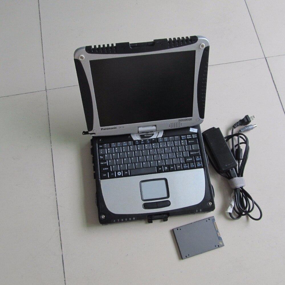 Звезда c3 программного обеспечения супер ssd с ноутбуком toughbook cf19 сенсорный экран диагностики для мб звезды готовая к применению