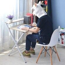 Free installation simple folding desk modern portable dinner table 60*40cm
