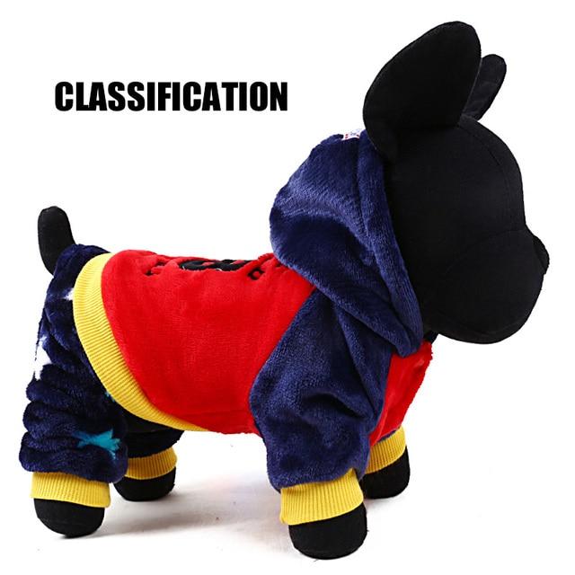 2017 petcircle new Autumn winter Fashion Pet Coats cute warm pet clothes dog hoodies dog coat jackets for chihuahua freeshipping