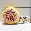 50pcs/lot Anime Sailor Moon Stuffed Plush Toys Backage Pendants With Ring 8cm  kunai  pet