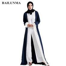2019 New muslim dress abayas for women baju wanita moroccan robe orientale musulman open abaya dubai