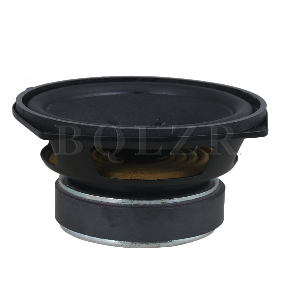 BQLZR 5 Inch Tweeter Full-Range Speaker E05-25R1 Audio Loudspeaker 8 Ohm jtron 8 ohm 5 watt lcd tv speaker silver