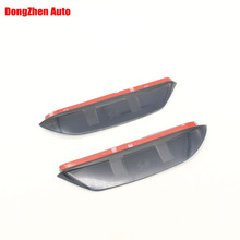 1Pair Rearview mirror rain eyebrow reflective mirror side mirror rain visor accessories Fit For BYD S6 2011-2013