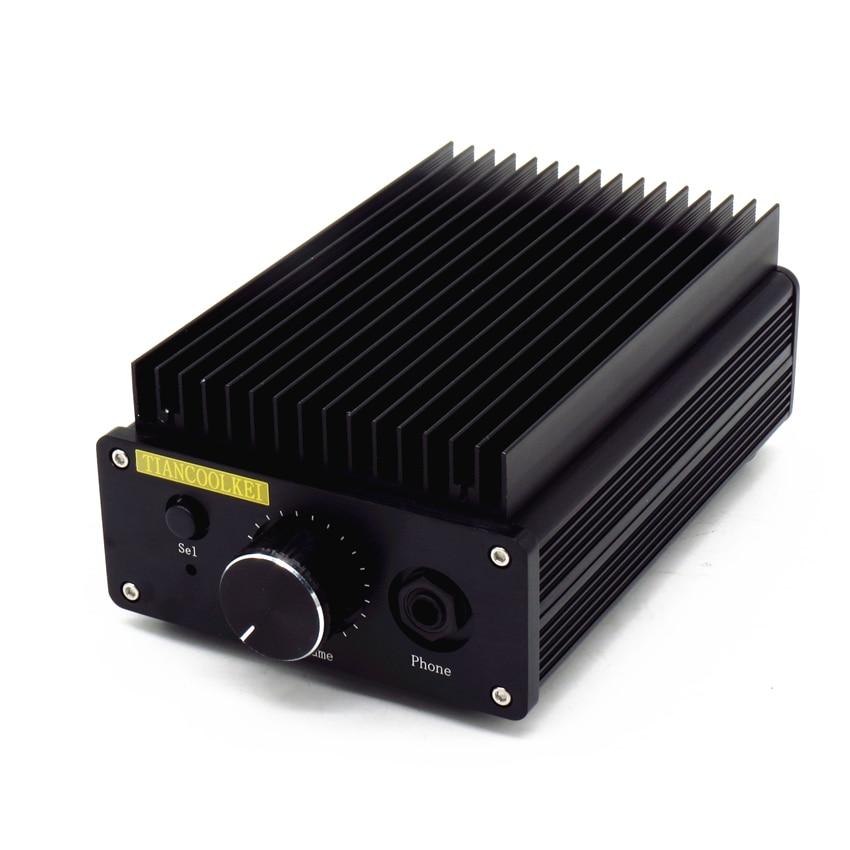 L1969se 8W+8w pure class a Warm sound power amplifier and headphone amplifier integrated machine Using 1969 class a amplifie