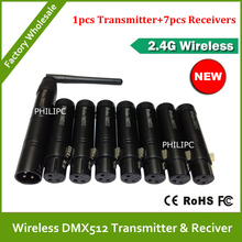 DHL Free Shipping Wholesale High Qulity wireless DMX controller ,DMX Wireless Controller ,DMX512 Wireless Controller