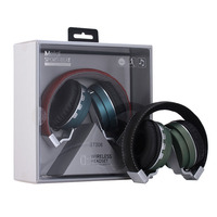 Original Foldable HiFi Over Ear Bluetooth Headphones TF Card BT 4 0 Wireless Noise Cancelling Headset
