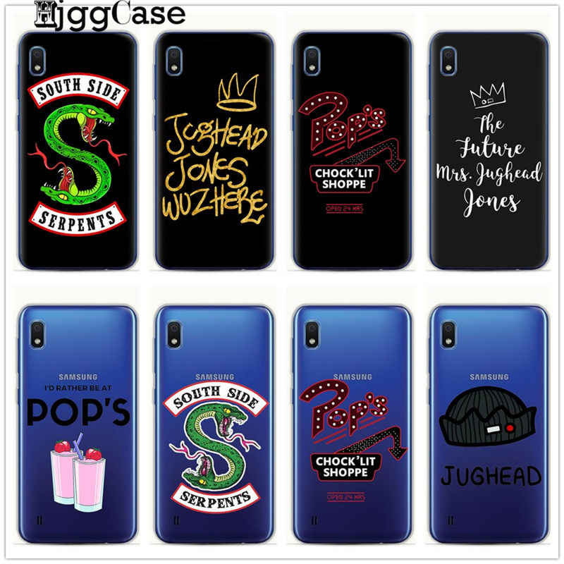 American TV Riverdale Phone Case For Samsung Galaxy A10 A20 A30 A50 A70 A6 A8 A7 A9 2018 A5 2017 S10 S8 S9 Plus S10E Cover Cases