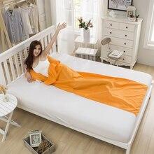 Doorsaccery Fast Inflatable 210cm*70cmLaybag Air Sleeping Bag Camping Portable Air Banana Sofa Beach Bed Air + Free shipping!