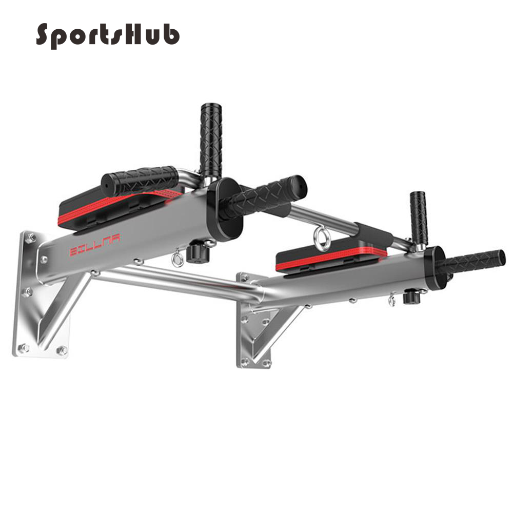 SPORTSHUB Multifunction Home Gym Wall Horizontal Bars Indoor Body Workout Fitness Equipment Pull Up Bars O2K0012 albreda upper body workout crossfit training wall horizontal bar interior fitness equipment horizontal bar chin up pull up bar