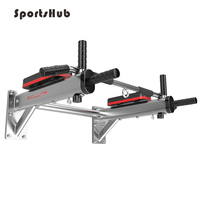 SPORTSHUB Multifunction Home Gym Wall Horizontal Bars Indoor Body Workout Fitness Equipment Pull Up Bars O2K0012