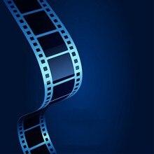 Hollywood Cinema Filme Preto Filme Filmagens Fundo de Vinil pano de Computador impresso pano de fundo da parede de Alta qualidade