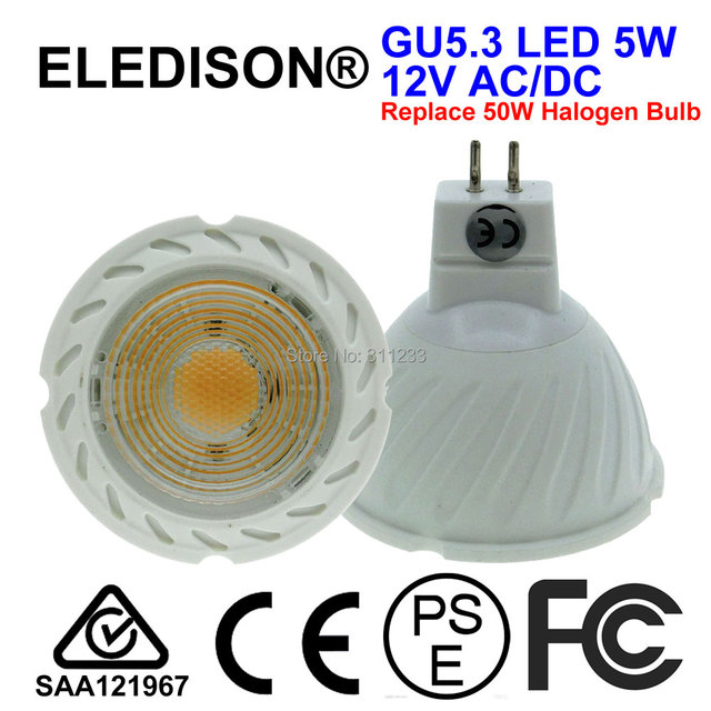 5 w gu53 led lamp licht 12 v ac dc 50 w halogeen equivalent
