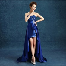 Sweatheart Asymmetrical Evening font b Dresses b font Long Court Train Mermaid Dovetail font b Prom
