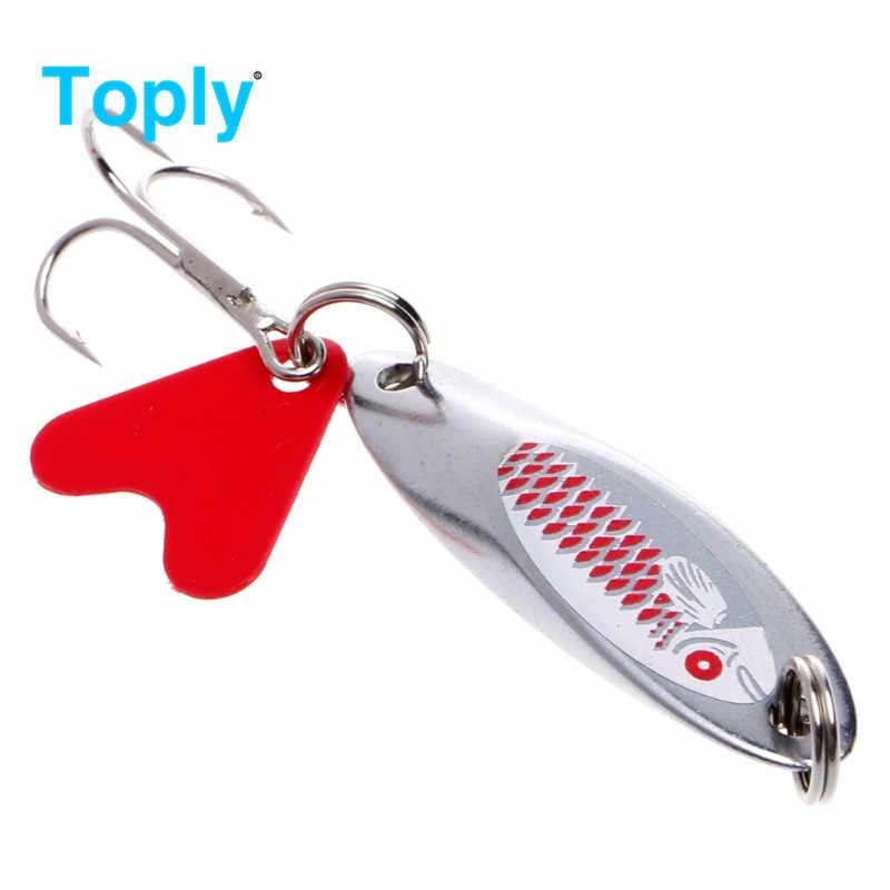 جديد من Toply طُعم معدني لصيد الأسماك ، طُعم صناعي ، طُعم صناعي للطُعم ، طعوم 7 جرام 10 جرام 14 جرام 21 جرام ، إكسسوارات جديدة