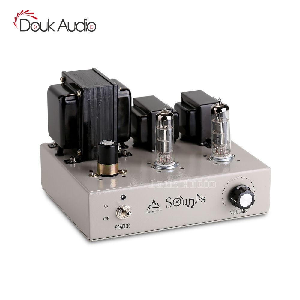 Douk Audio Mini 6F3 Class A Vacuum Tube Amplifier Stereo HiFi Power Amp 4W 2 DIY