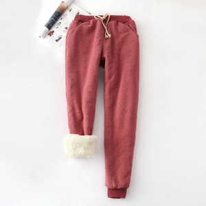 OLGITUM Winter Harem 2019 trousers Warm Women Loose Pant