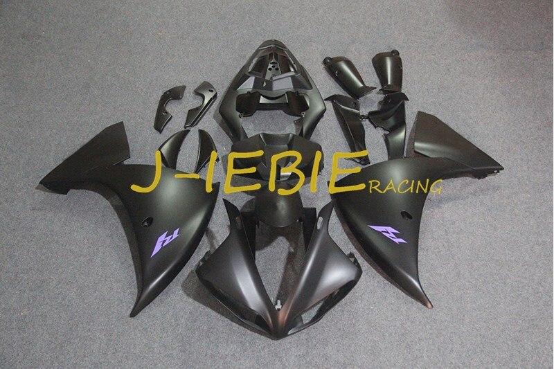 Matt black Injection Fairing Body Work Frame Kit for Yamaha YZF 1000 R1 2009 2010 2011