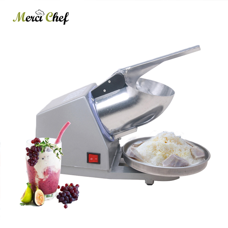 ITOP Electric Ice Crusher Ice Crushing Machine Snow Ice Maker Bar Cocktail Ice Crusher Shaver Machine With Holding Bowl ice crusher snow ice shaving machine easy operation high quality home use summer ice food making machine ice crushing machine zf